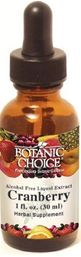 Botanic Choice Cranberry Liquid Extract (1 oz)