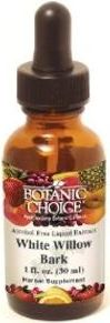 Botanic Choice White Willow Bark Liquid Extract (1 oz) - Click Image to Close