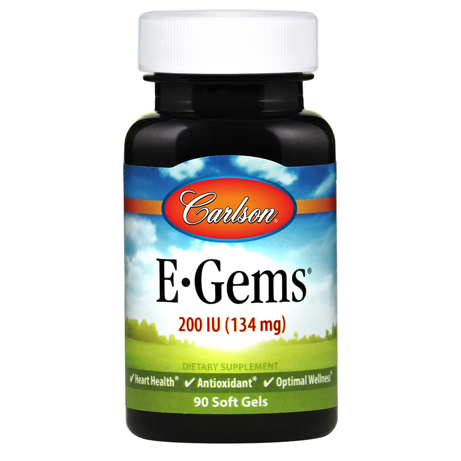 Carlson E-Gems 200 (90 softgels)