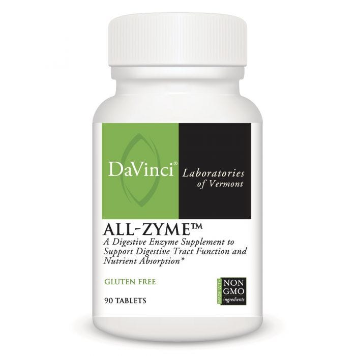DaVinci All-Zyme Superior Enzymes (90 tabs) 4-Pack