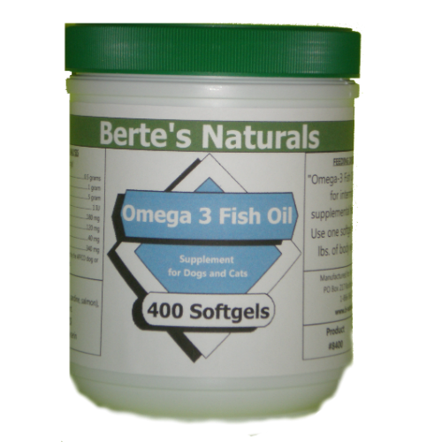 Berte's EPA 180-120 (400 softgels) Omega-3 Fish Oil