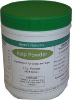 Berte's Sea Kelp Powder (1 lb)